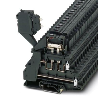 Sicherungsreihenklemme TB 4-2L-HESILED 24 (5X20) I