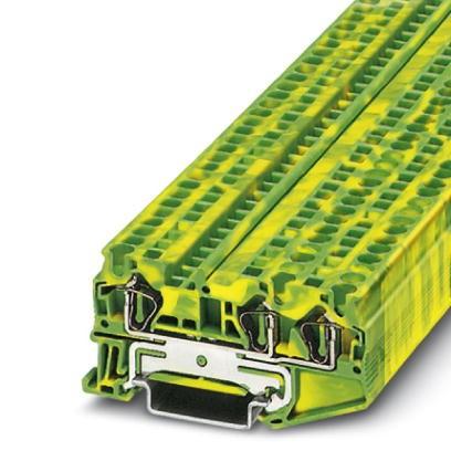Schutzleiter-Reihenklemme ST 4-TWIN-PE