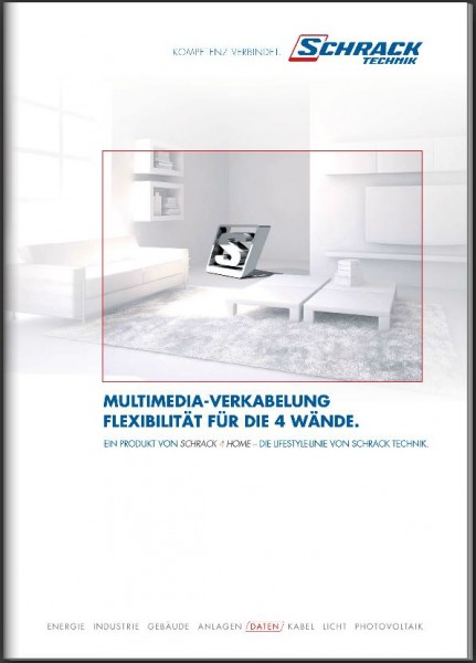 Katalog Schrack 4 Home Multimedia-Verkabelung